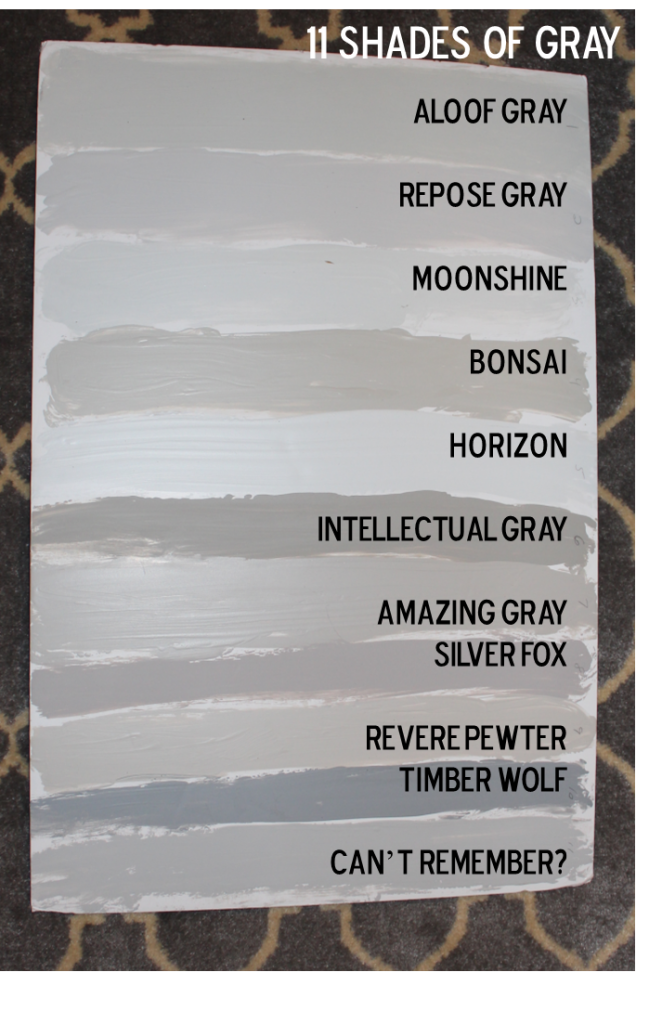 fifty shades of grey our house paint colors - southern state of