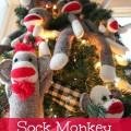 sock-monkey-christmas-tree-