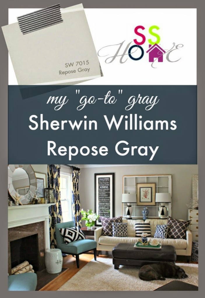 My Go To Gray Paint Color Repose Gray Southern State Of