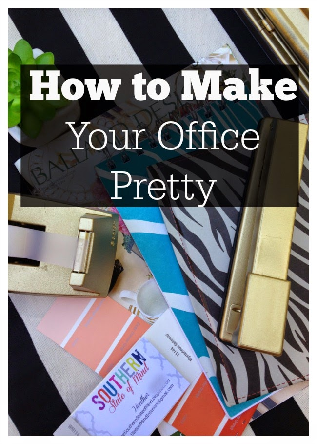 How to make your office pretty give it some glam for Southern paint supply
