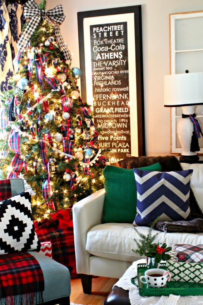 a very merry christmas home tour - Preppy Home Decor