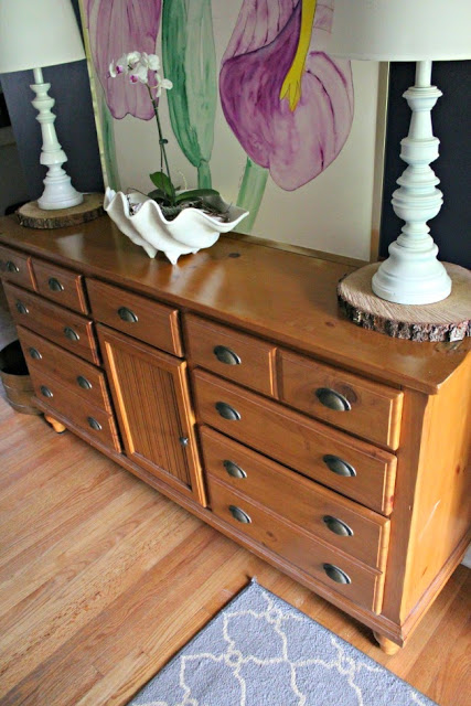 The Foyer Diy Driftwood Dresser Southern State Of Mind