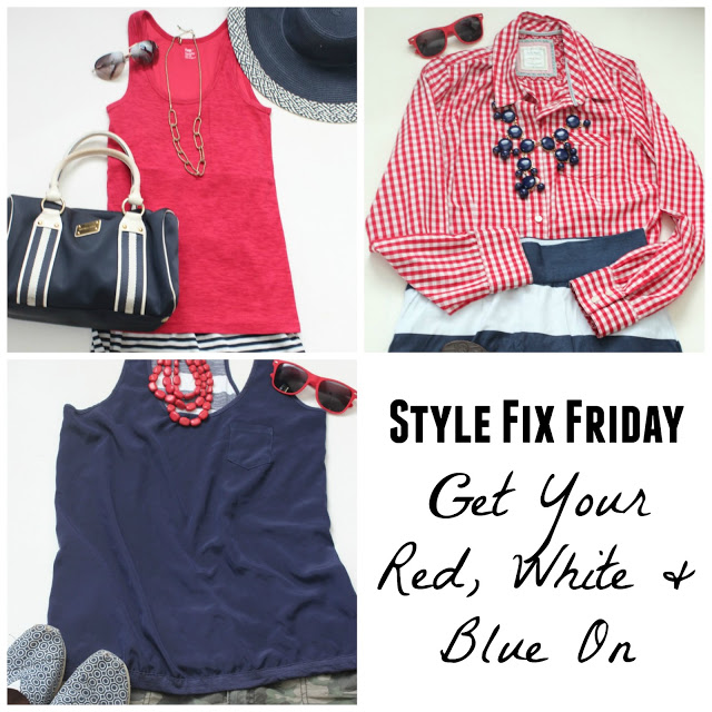 Style Fix Friday: Get Your Red, White & Blue On