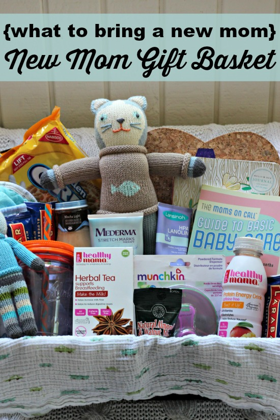 Baby Gifts For New Moms : What to bring a new mom gift basket southern