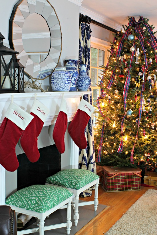 Southern State of Mind Family Room Christmas (28)
