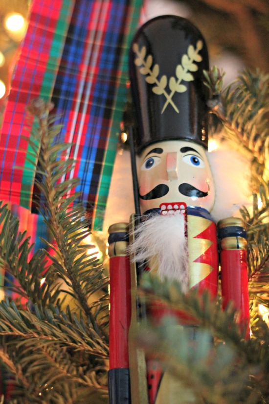 preppy classic nutcracker christmas tree
