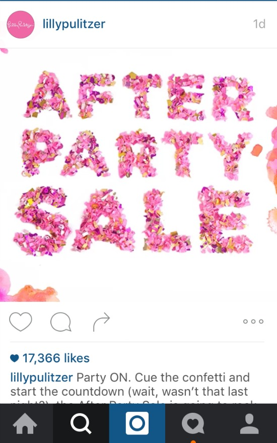 Lilly After Party Sale