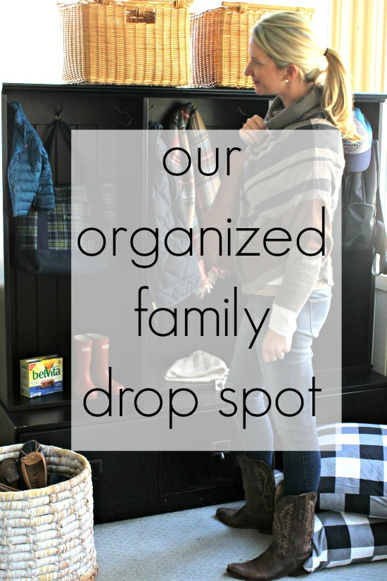 Organized Family Drop Spot