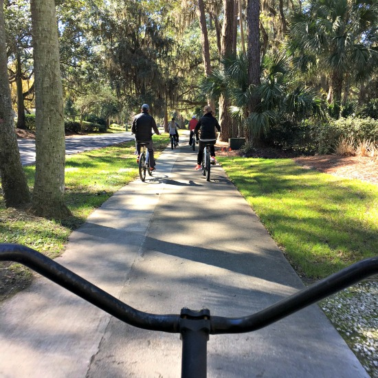 bike ride view