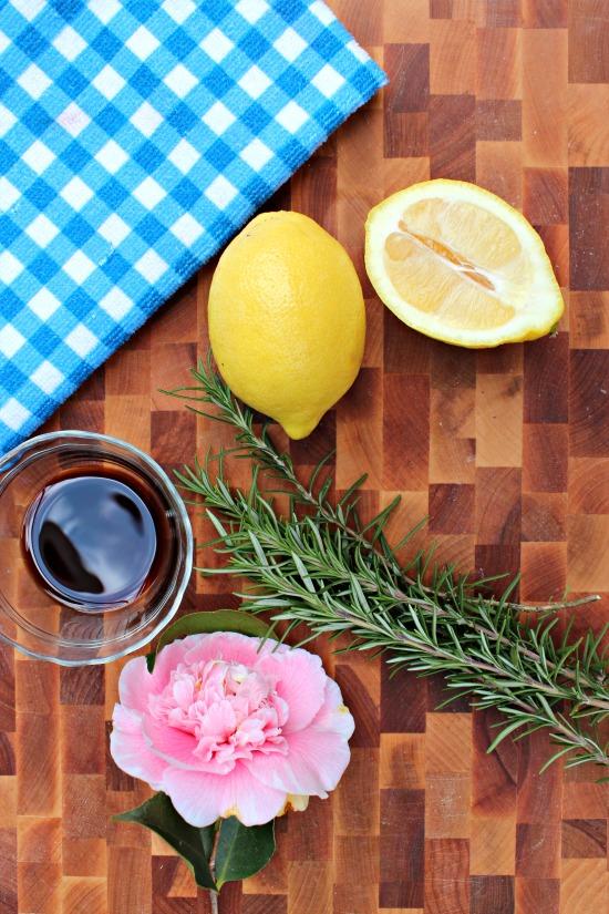 lemon rosemary stovetop simmer
