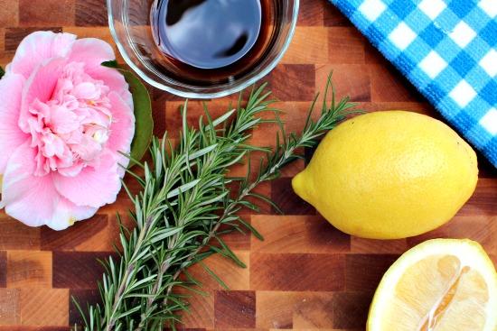 southern lemon rosemary stovetop simmer