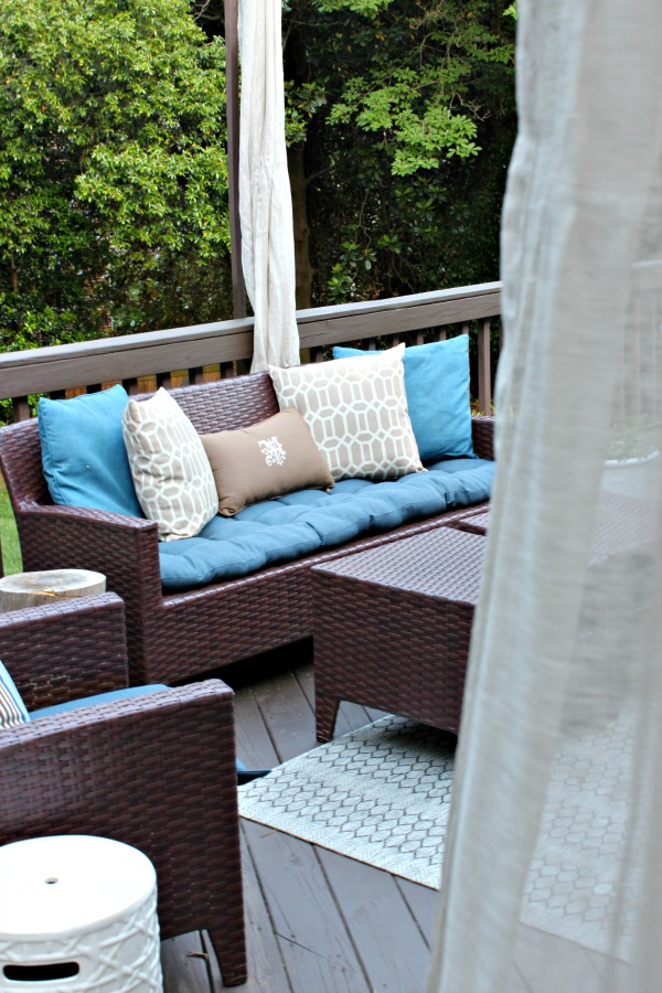 {Back Porch Progress} Shopping Haul