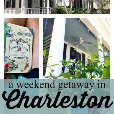 A Weekend Getaway in Charleston