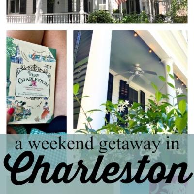 A Weekend Getaway in Charleston