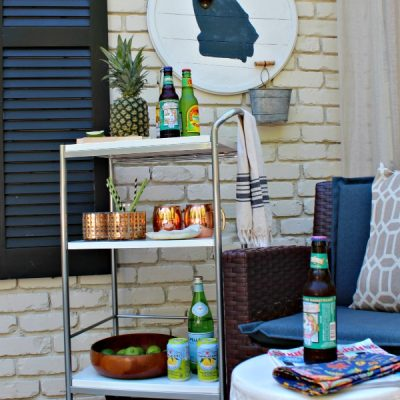 DIY State Wall Mounted Bottle Opener Tutorial {The Great Southern Road Trip}