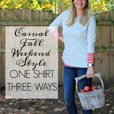 {Style Inspiration} Casual Fall Weekend