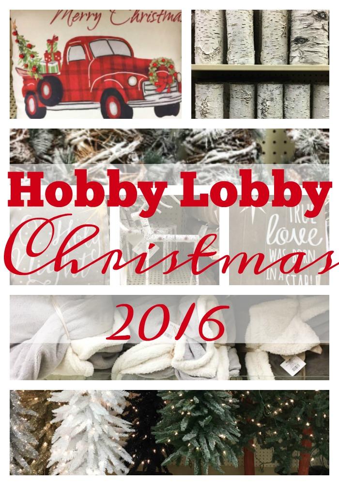Christmas Trees At Hobby Lobby