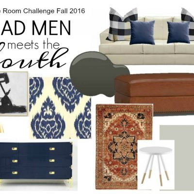 Our Mad Men Meets the South Living Room Update – ORC Week 4