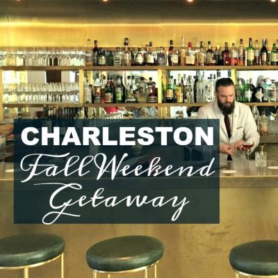 Our Charleston Fall Weekend Getaway