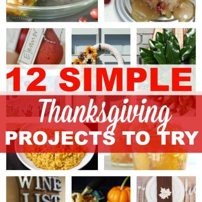 12 DIY Thanksgiving Projects to Inspire {DIY Housewives Vol 7}