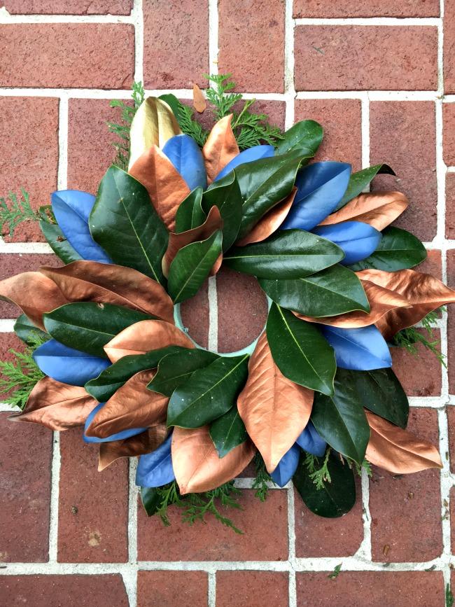 metallic-magnolia-wreath-tutorial