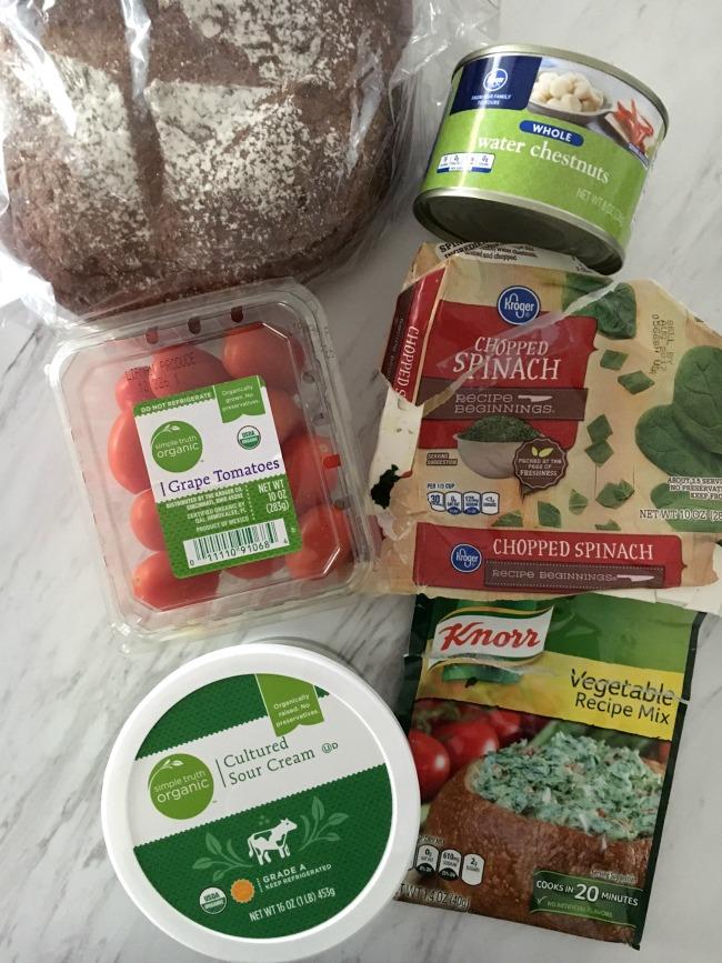 spinach-dip-ingredients