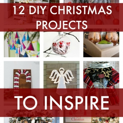12 DIY Christmas Projects to Inspire {DIY Housewives Vol 8}