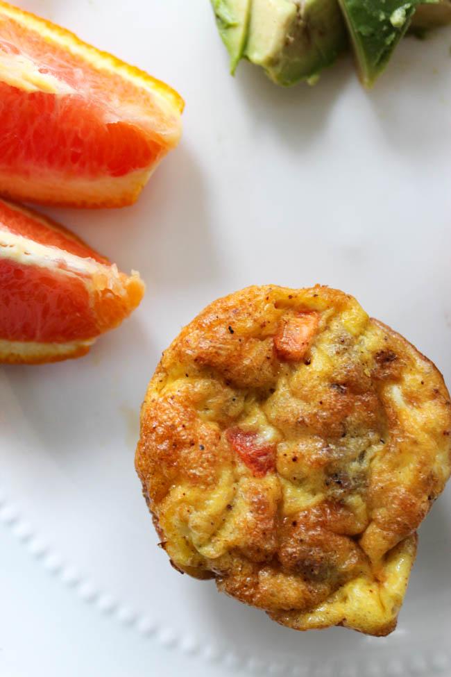 Egg Omelet Muffin Recipe