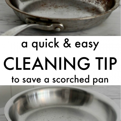 {Five Minute Friday} Bar Keepers Friend