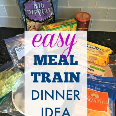 {Meal Train Recipe Idea} Sheet Pan Fajitas