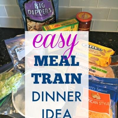 {Meal Train Recipe Idea} Sheet Pan Fajitas