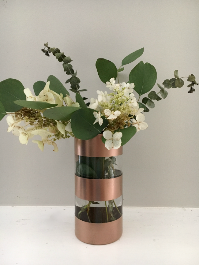 Diy Striped Vase Southern State Of Mind