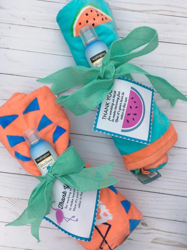 {Summer Fun} Last Minute Teacher Gift Idea
