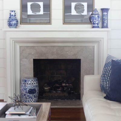 {Peach Valley House} Living Room Progress