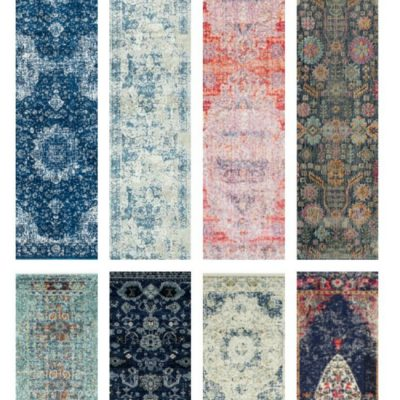 Beautiful Budget Friendly Vintage Runner Rugs